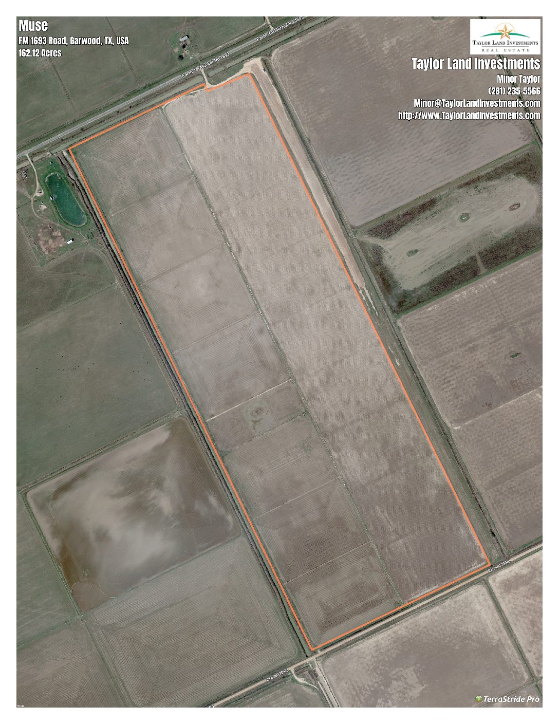 147 Acre Irrigated Farm-Colorado County, Texas
