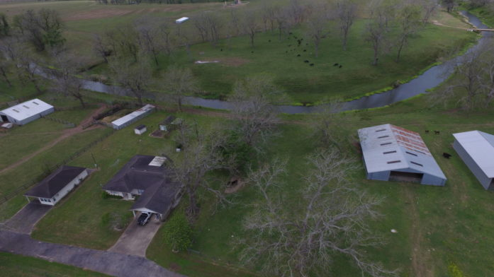 77 acre working ranch with excellent pastures with home