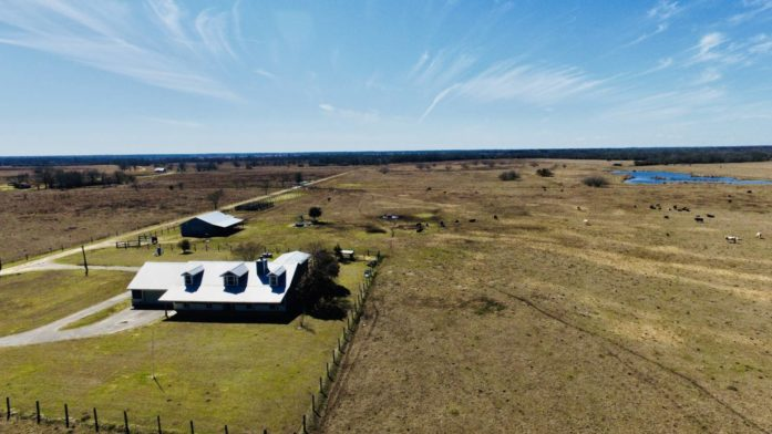 117 Acre Ranch w/Home Wharton County